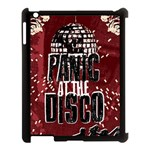 Panic At The Disco Poster Apple iPad 3/4 Case (Black) Front