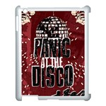 Panic At The Disco Poster Apple iPad 3/4 Case (White) Front