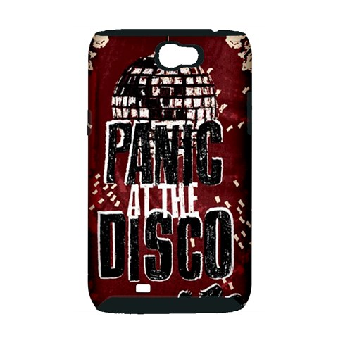 Panic At The Disco Poster Samsung Galaxy Note 2 Hardshell Case (PC+Silicone)