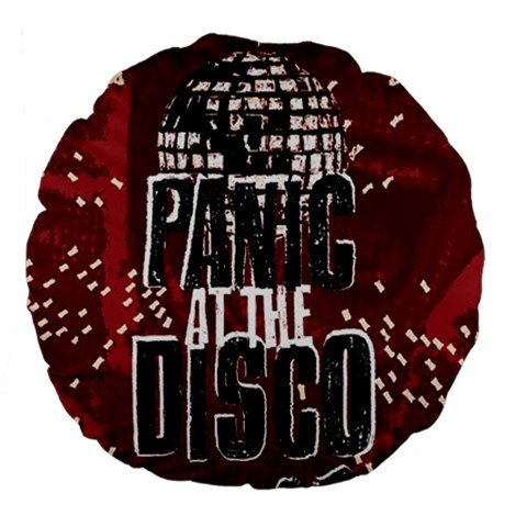 Panic At The Disco Poster Large 18  Premium Round Cushions