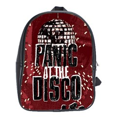 Panic At The Disco Poster School Bags (xl)