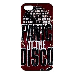 Panic At The Disco Poster Apple iPhone 5 Premium Hardshell Case