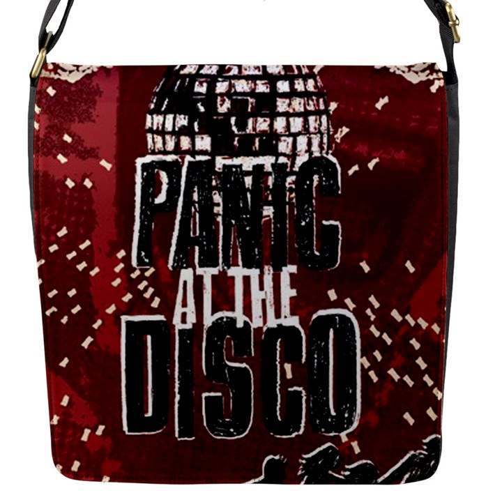Panic At The Disco Poster Flap Messenger Bag (S)