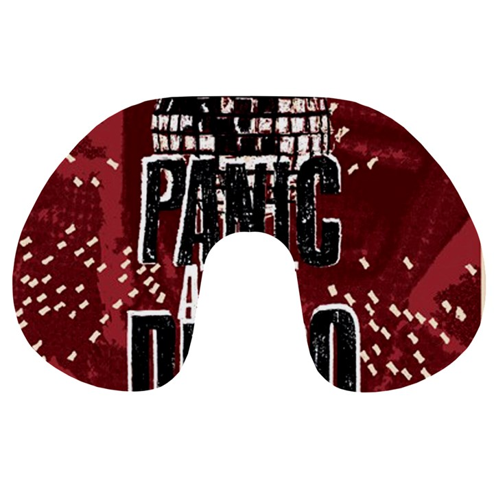 Panic At The Disco Poster Travel Neck Pillows