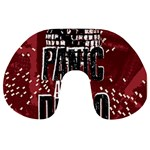 Panic At The Disco Poster Travel Neck Pillows Back