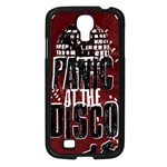 Panic At The Disco Poster Samsung Galaxy S4 I9500/ I9505 Case (Black) Front