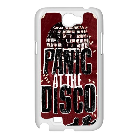 Panic At The Disco Poster Samsung Galaxy Note 2 Case (White)