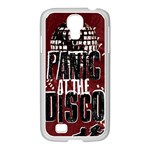 Panic At The Disco Poster Samsung GALAXY S4 I9500/ I9505 Case (White) Front