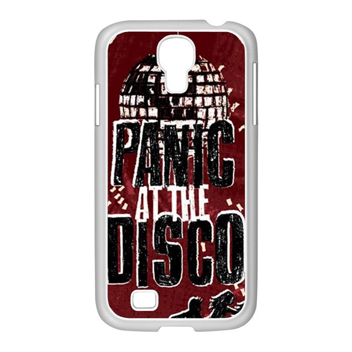 Panic At The Disco Poster Samsung GALAXY S4 I9500/ I9505 Case (White)