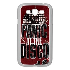 Panic At The Disco Poster Samsung Galaxy Grand Duos I9082 Case (white)