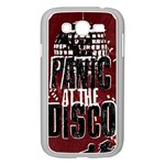 Panic At The Disco Poster Samsung Galaxy Grand DUOS I9082 Case (White) Front