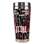 Panic At The Disco Poster Stainless Steel Travel Tumblers Center