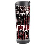 Panic At The Disco Poster Travel Tumbler Center