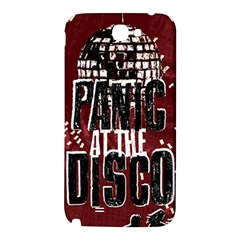 Panic At The Disco Poster Samsung Note 2 N7100 Hardshell Back Case
