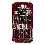 Panic At The Disco Poster Samsung Note 2 N7100 Hardshell Back Case Front