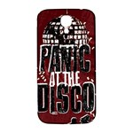 Panic At The Disco Poster Samsung Galaxy S4 I9500/I9505  Hardshell Back Case Front