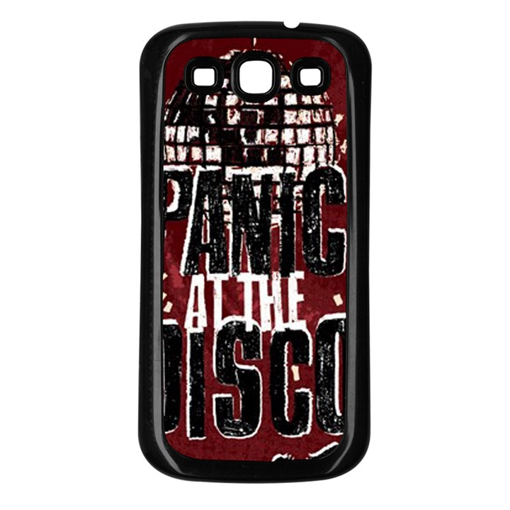 Panic At The Disco Poster Samsung Galaxy S3 Back Case (Black)