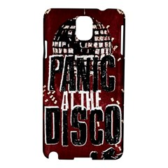 Panic At The Disco Poster Samsung Galaxy Note 3 N9005 Hardshell Case