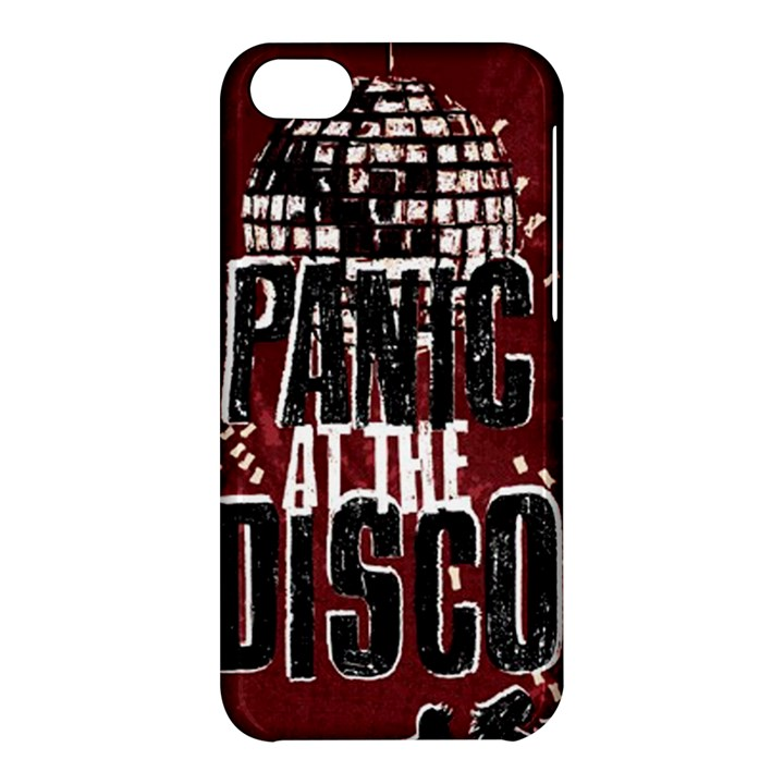 Panic At The Disco Poster Apple iPhone 5C Hardshell Case