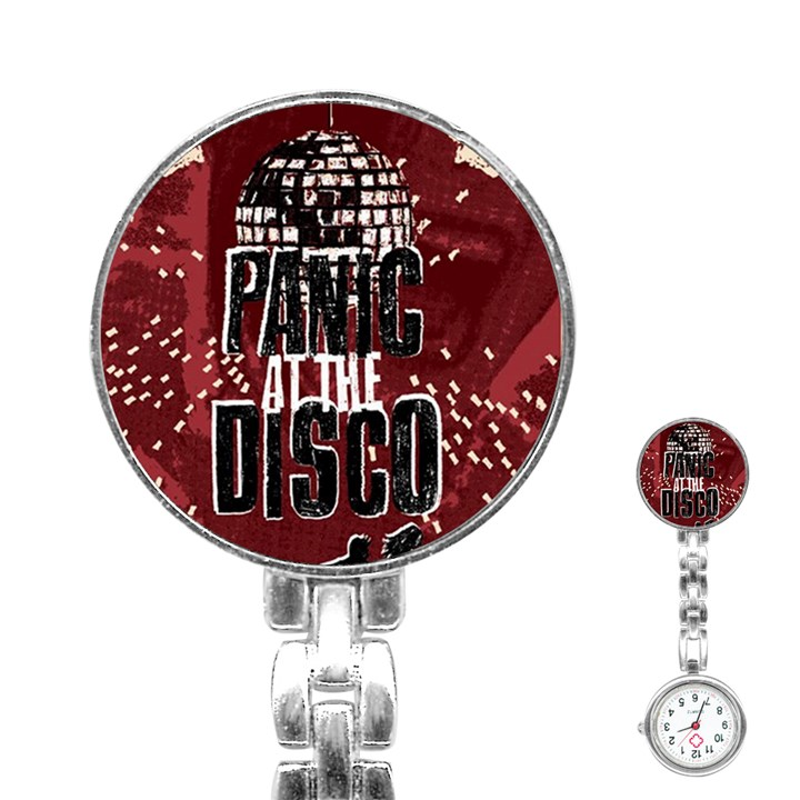 Panic At The Disco Poster Stainless Steel Nurses Watch