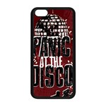 Panic At The Disco Poster Apple iPhone 5C Seamless Case (Black) Front