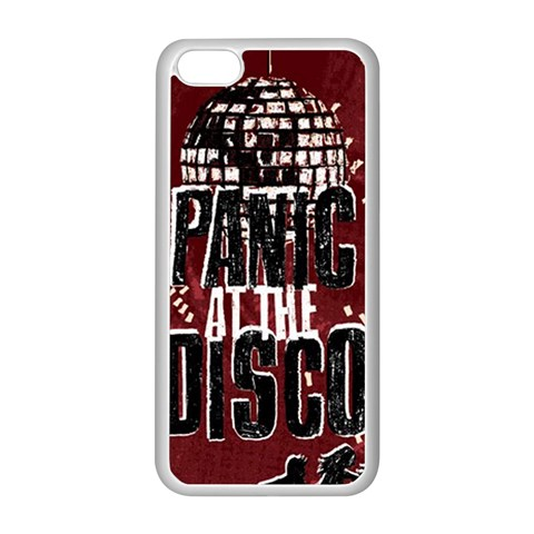 Panic At The Disco Poster Apple iPhone 5C Seamless Case (White)