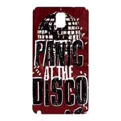 Panic At The Disco Poster Samsung Galaxy Note 3 N9005 Hardshell Back Case