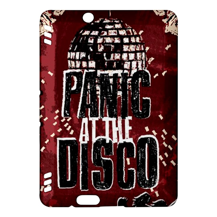 Panic At The Disco Poster Kindle Fire HDX Hardshell Case