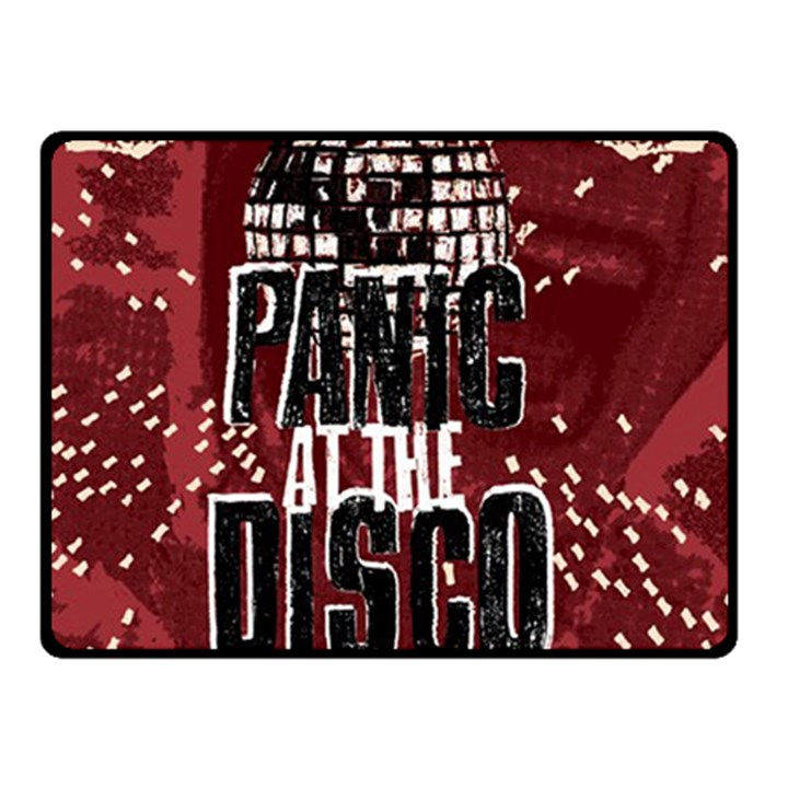 Panic At The Disco Poster Double Sided Fleece Blanket (Small)