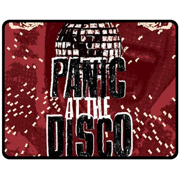 Panic At The Disco Poster Double Sided Fleece Blanket (Medium)
