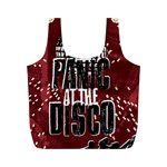 Panic At The Disco Poster Full Print Recycle Bags (M)  Back