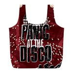 Panic At The Disco Poster Full Print Recycle Bags (L)  Front