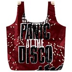Panic At The Disco Poster Full Print Recycle Bags (L)  Back