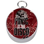 Panic At The Disco Poster Silver Compasses Front