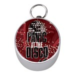 Panic At The Disco Poster Mini Silver Compasses Front