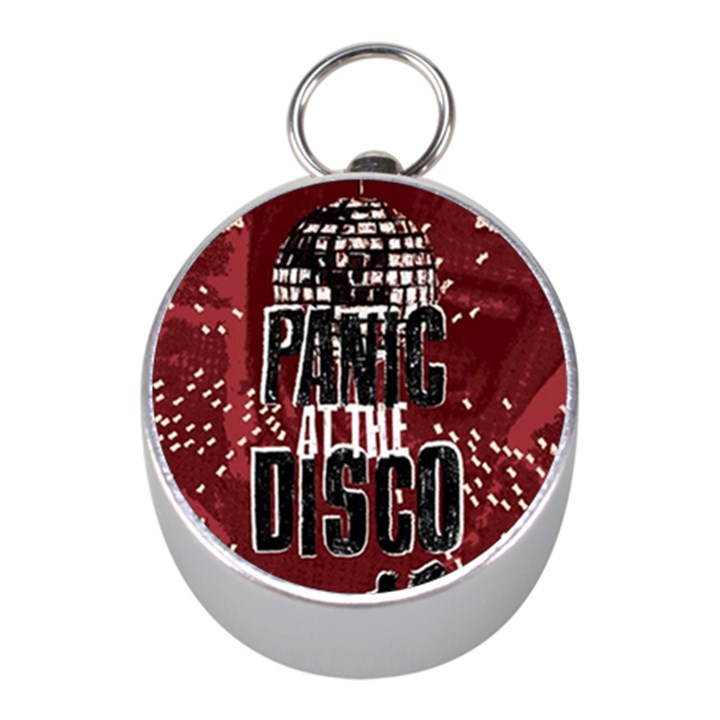 Panic At The Disco Poster Mini Silver Compasses