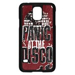 Panic At The Disco Poster Samsung Galaxy S5 Case (Black) Front