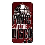 Panic At The Disco Poster Samsung Galaxy S5 Back Case (White) Front