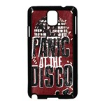 Panic At The Disco Poster Samsung Galaxy Note 3 Neo Hardshell Case (Black) Front