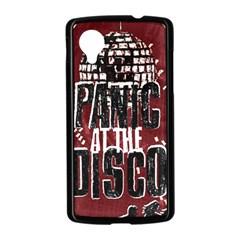 Panic At The Disco Poster Nexus 5 Case (Black)