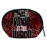 Panic At The Disco Poster Accessory Pouches (Medium)  Back