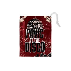 Panic At The Disco Poster Drawstring Pouches (small)