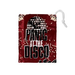 Panic At The Disco Poster Drawstring Pouches (Medium)
