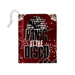Panic At The Disco Poster Drawstring Pouches (Medium)  Back
