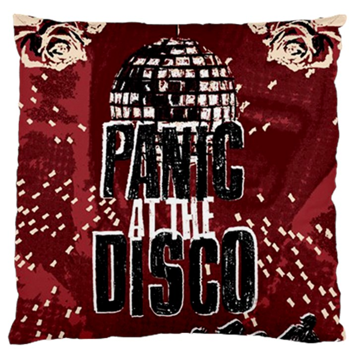 Panic At The Disco Poster Standard Flano Cushion Case (Two Sides)
