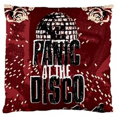 Panic At The Disco Poster Large Flano Cushion Case (two Sides)
