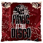 Panic At The Disco Poster Large Flano Cushion Case (Two Sides) Back
