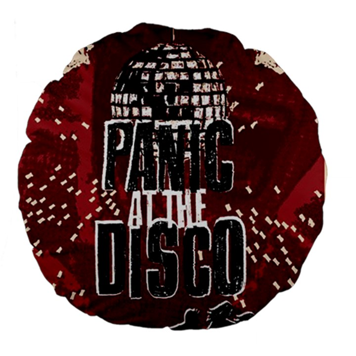 Panic At The Disco Poster Large 18  Premium Flano Round Cushions