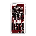 Panic At The Disco Poster Apple iPhone 6/6S White Enamel Case Front