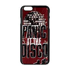 Panic At The Disco Poster Apple iPhone 6/6S Black Enamel Case